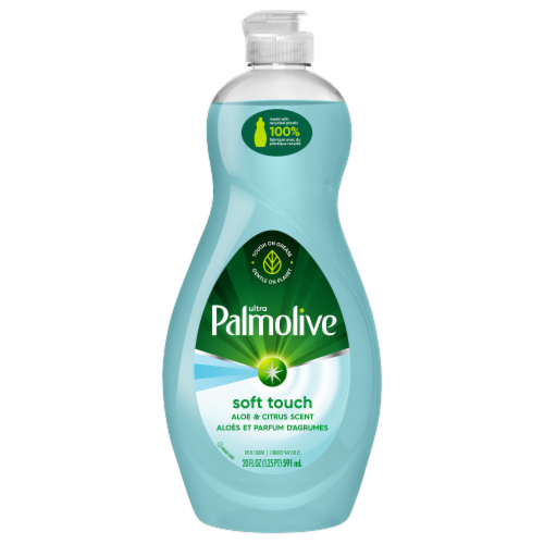 Palmolive Ultra Soft Touch Aloe & Citrus Dish Liquid Perspective: front