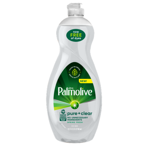 Palmolive Ultra Pure & Clear Dish Soap Perspective: front