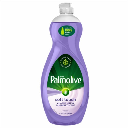 Palmolive Ultra Almond & Blueberry Dish Soap Perspective: front