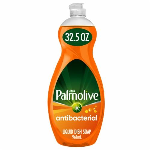 Palmolive Ultra Antibacterial Orange Dish Liquid Perspective: front