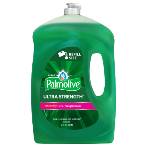Palmolive Ultra Strength Original Dish Liquid Perspective: front