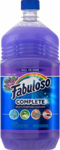Fabuloso Floral Burst Scent Complete Multi-Action Cleaner Perspective: front