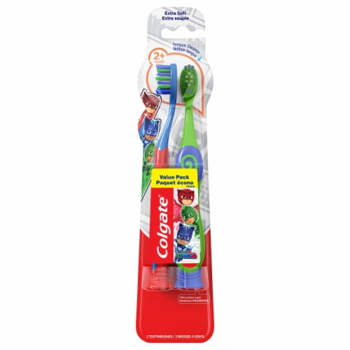 Colgate PJ Masks Extra Soft Kids Toothbrush Perspective: front
