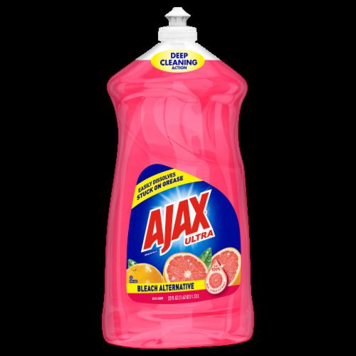 Ajax Bleach Alternative Grapefruit Dish Liquid Perspective: front
