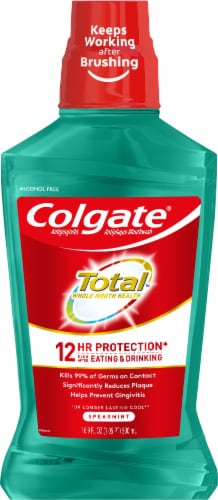Colgate Total Spearmint Perspective: front