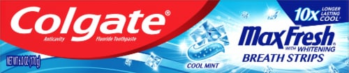 Colgate Max Fresh Whitening Cool Mint Toothpaste Perspective: front