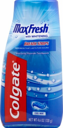 Colgate Maxfresh Cool Mint Liquid Toothpaste Perspective: front