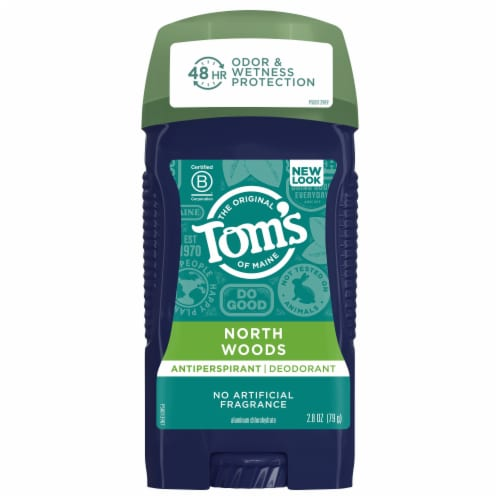 Tom's of Maine for Men North Woods Antiperspirant Deodorant Perspective: front