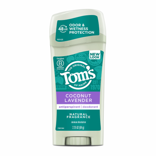Tom's of Maine Sage Natural Strength Deodorant 3 Count Perspective: front