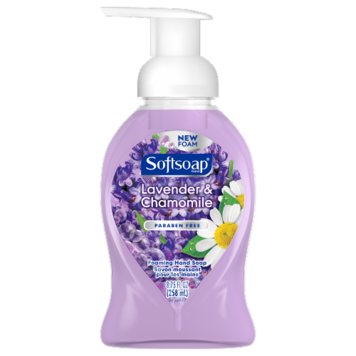 Softsoap Lavender & Chamomile Foaming Hand Soap Perspective: front