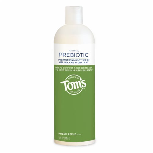 Tom's of Maine Fresh Apple Prebiotics Body Wash Perspective: front