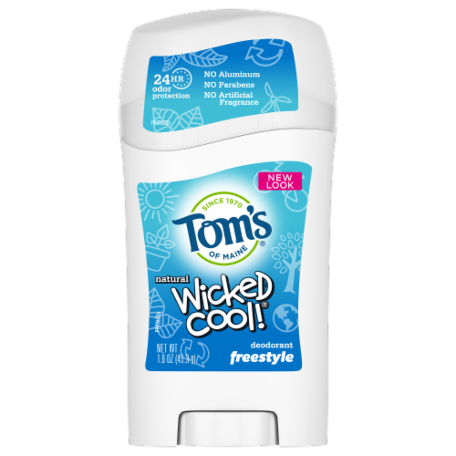 Tom's of Maine Freestyle Kids Wicked Cool Deodorant Perspective: front