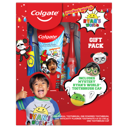 Oral Care Kids Ryan's World Hygiene Kit Perspective: front