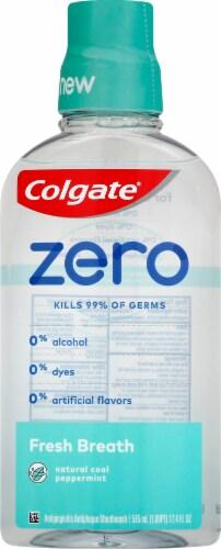 Colgate Zero Fresh Breath Mouthwash Perspective: front