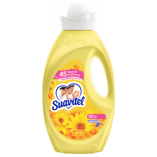 Suavitel Morning Sun Liquid Fabric Softener Perspective: front