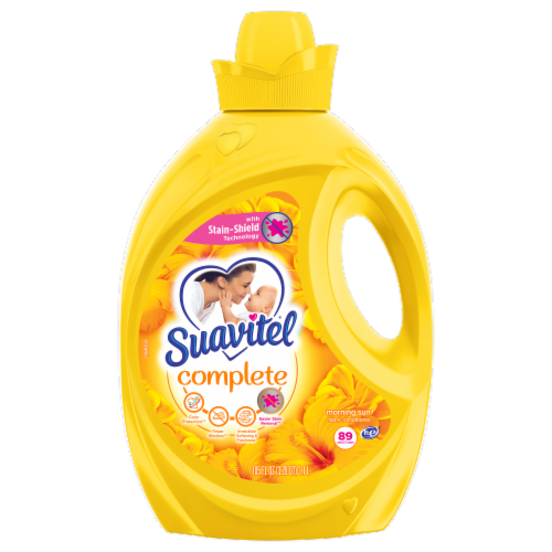 Suavitel Complete Morning Sun Liquid Fabric Softener Perspective: front