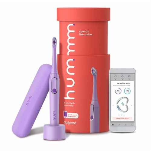Colgate Hum Connect Electric Toothbrush Perspective: front