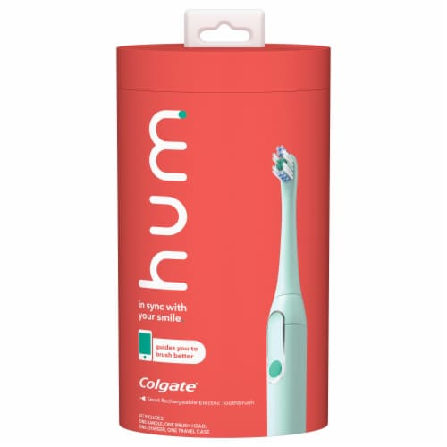 Colgate Hum Smart Rechargeable Electric Toothbrush Kit Perspective: front