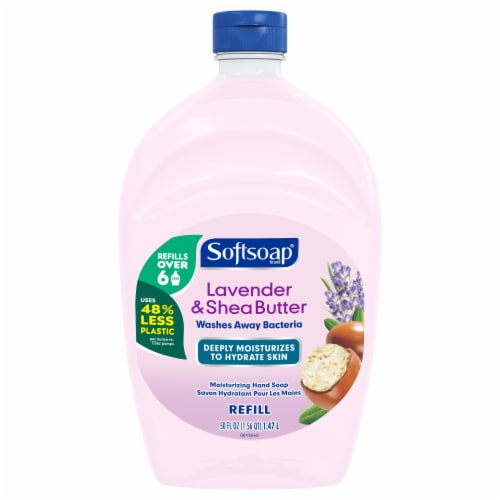 Softsoap Lavender & Shea Butter Moisturizing Hand Soap Refill Perspective: front