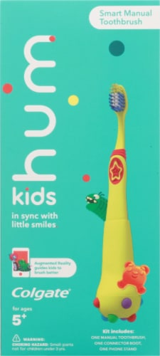 Colgate Hum Kids Smart Manual Toothbrush Perspective: front