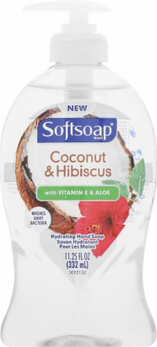 Softsoap Coconut & Hibiscus Liquid Hand Wash Perspective: front