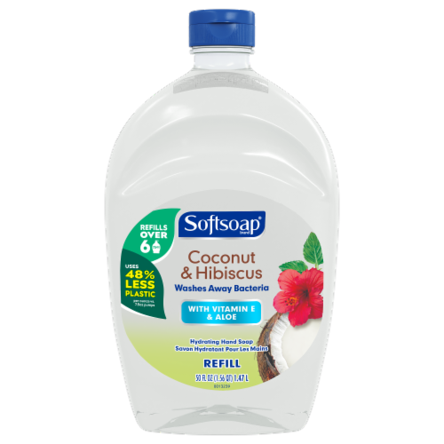 Softsoap Coconut Liquid Hand Wash Perspective: front