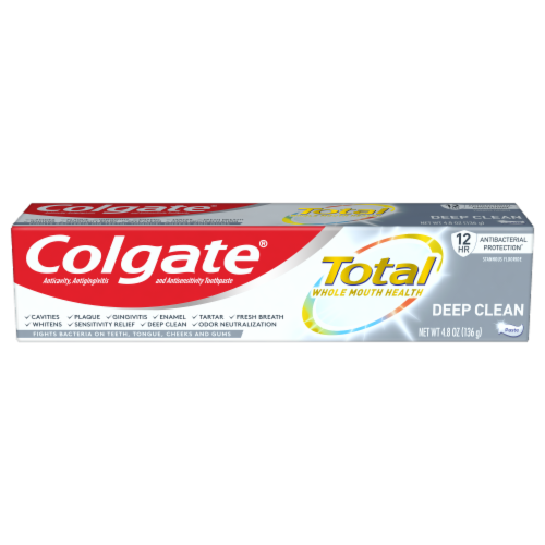 Colgate Total Advance Deep Clean Toothpaste Perspective: front