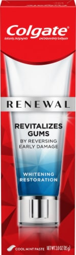 Colgate Renewal Gum Revitalize Toothpaste Perspective: front