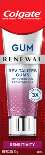 Colgate Renewal Fresh Mint Gel Sensitivity Repair Toothpaste Perspective: front
