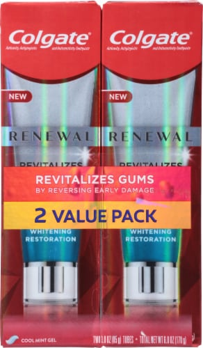 Colgate Renewal Gum Revitalizing Toothpaste Perspective: front