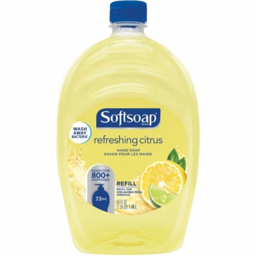 Softsoap 50 Oz. Fresh Citrus Liquid Hand Soap Refill CPC07336 Perspective: front