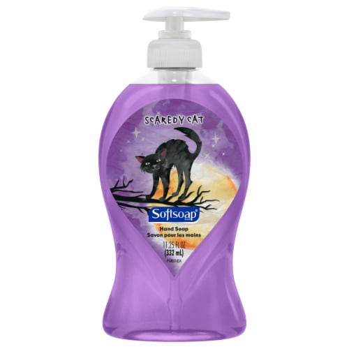 Softsoap Scaredy Cat Liquid Hand Soap Perspective: front