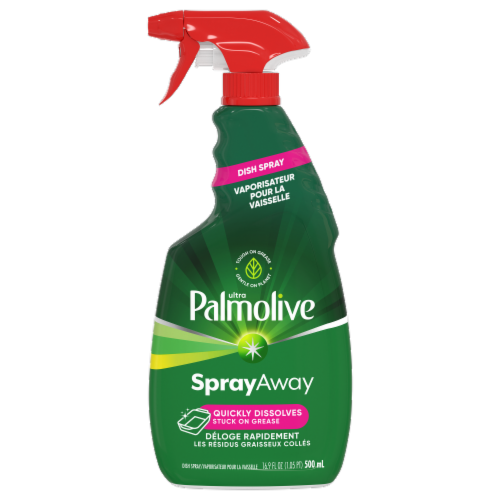 Palmolive Ultra Spray Away Dish Spray Perspective: front