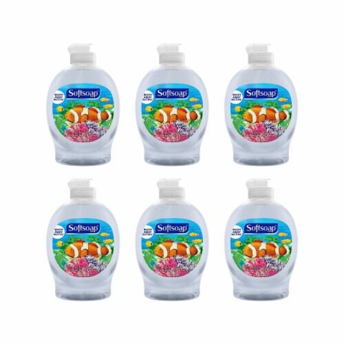 Softsoap 7.5 Oz. Aquarium Liquid Hand Soap CPC07384 Perspective: front