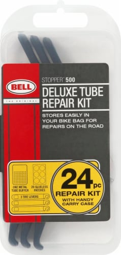 Bell Stopper 500 Deluxe Bicycle Tube Repair Kit Perspective: front