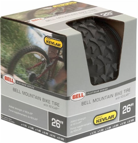 Bell Platinum Series Mountain Bike Tire with Kevlar Perspective: front