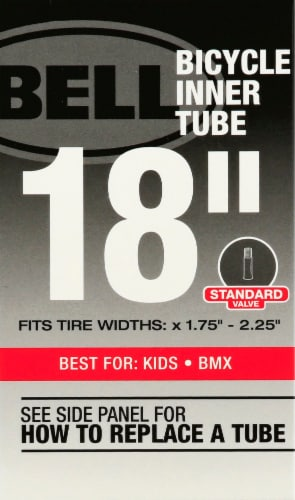 Bell 18-Inch Bicycle Inner Tube Perspective: front