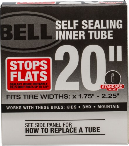 Bell Self-Seal Bicycle Inner Tube Liquid Sealant Perspective: front