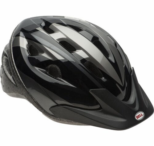 Bell Sports Adult Bicycle Helmet - Black Perspective: front
