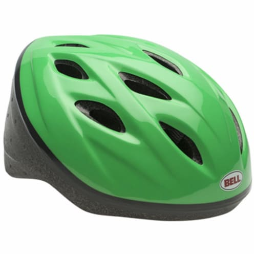Bell Sports 7063274 Green Boys Child Helmet Perspective: front