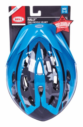 Bell Sports 7063277 Child Boys Blue Helmet Perspective: front