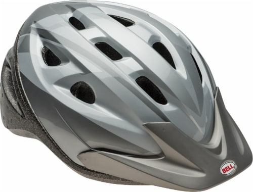 Bell Rig™ Adult Bike Helmet - Silver Ti Perspective: front