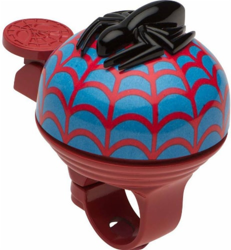 Bell Spider-Man Super Bicycle Bell - Red/Blue Perspective: front