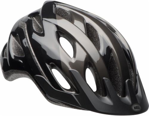 Bell Cadence Adult Bike Helmet - Black/Titanium Perspective: front