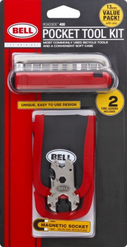 Bell Roadside 400 Pocket Tool Kit Perspective: front