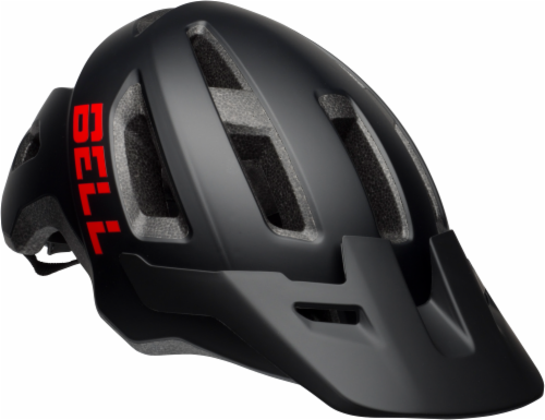 Bell Soquel MIPS Youth Bike Helmet- Black / Red Perspective: front