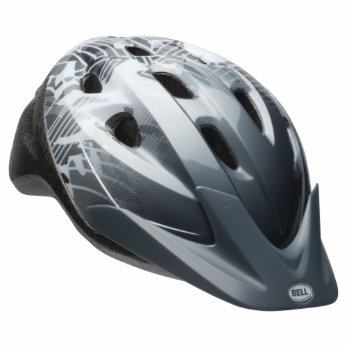 Bell Rally Child Bike Helmet - Dark Gray/White Perspective: front
