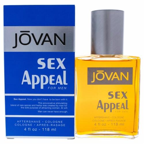 Coty Jovan Sex Appeal After Shave Splash 4 oz Perspective: front