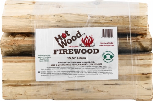 California Hot Wood Firewood Bundle Perspective: front