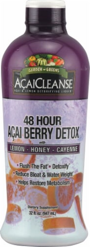 Garden Greens  AcaiCleanse 48-Hour Acai Berry Detox Perspective: front